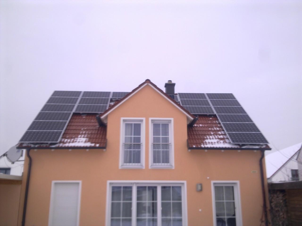 5,5 kWp Photovoltaikanlage in 93055 Burgweinting