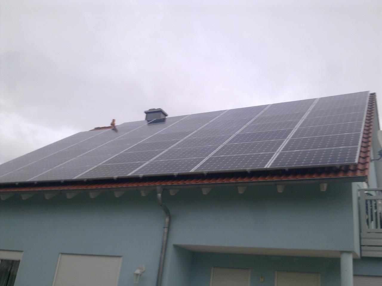 24 kWp Photovoltaikanlage in 93055 Burgweinting