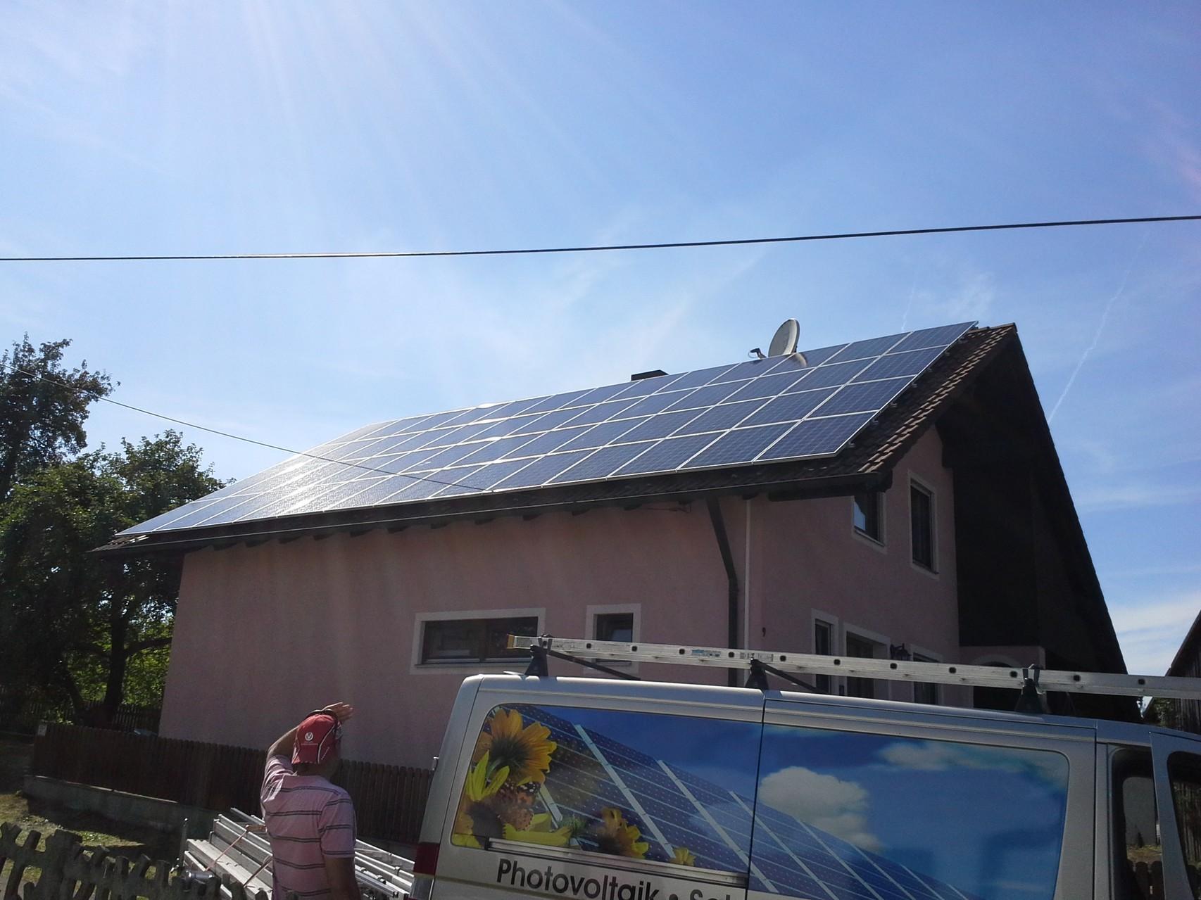 13 kWp in 93095 Hagelstadt SHARP Solar