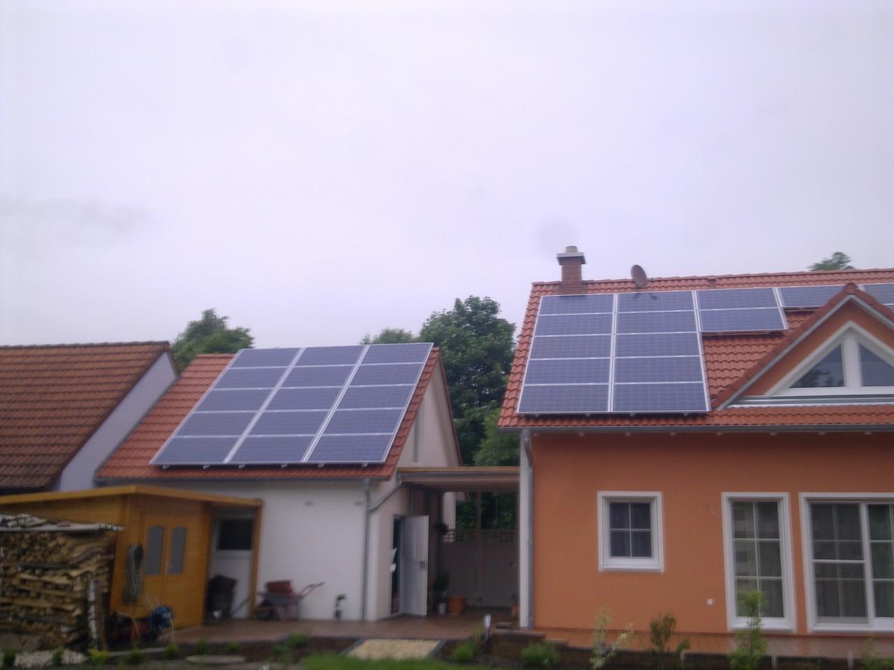 10 kWp Photovoltaikanlage in 93086 Pfatter