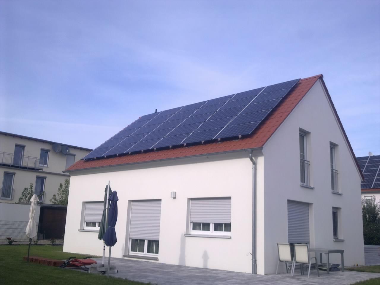 13 kWp Photovoltaikanlage in 93055 Burgweinting