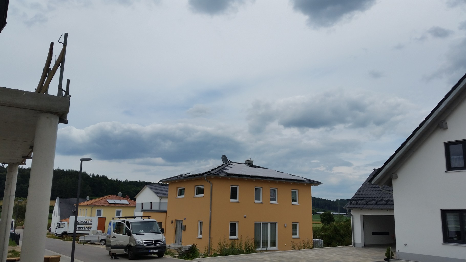 7,75 kWp Photovoltaikanlage 93356 TeugnSHARP Modulen in Teugn