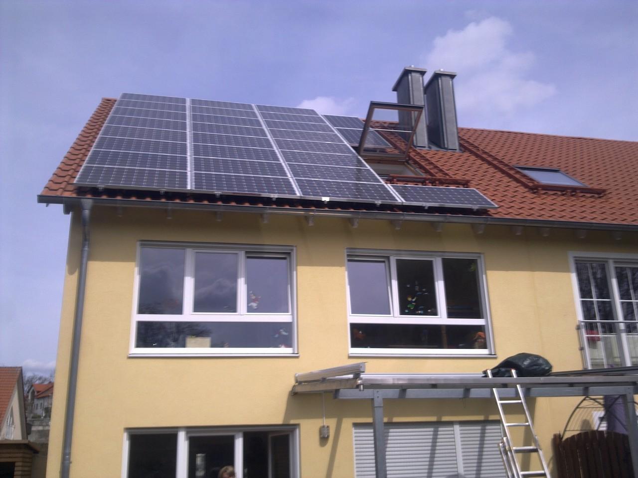 7,15 kWp Photovoltaikanlage in 93138 Lappersdorf