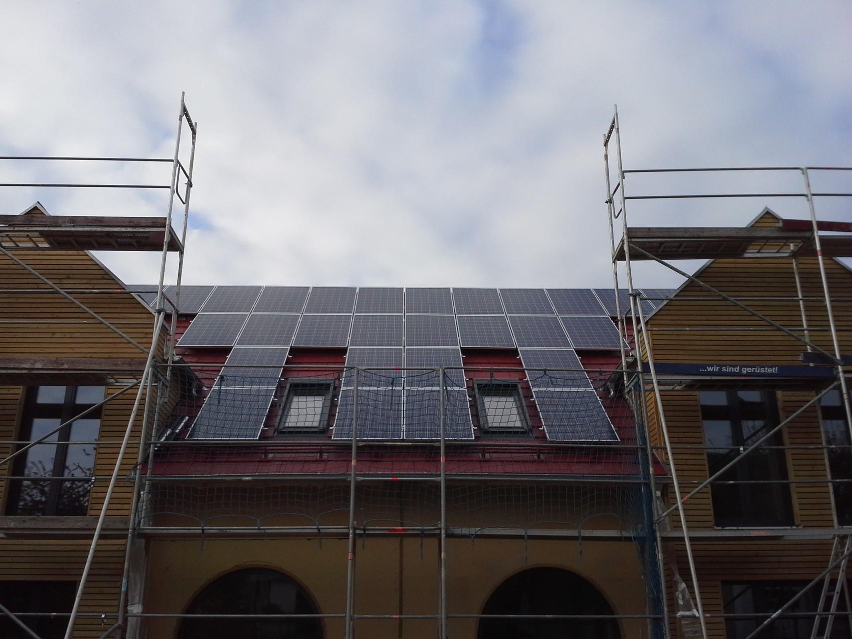 12,5 kWp in 93105 Tegerheim Solarwatt Glas/Glas Modul