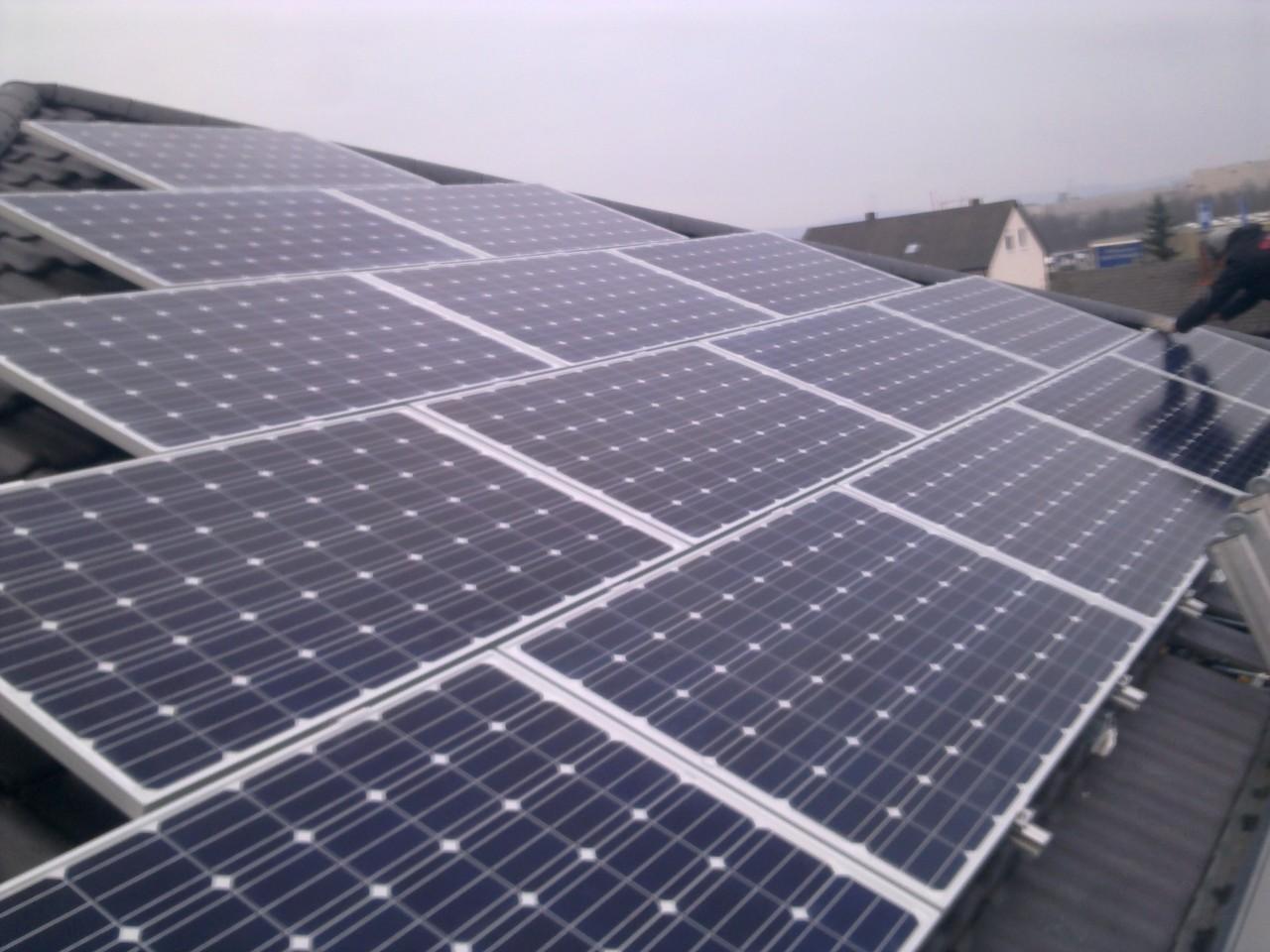 9 kWp Photovoltaikanlage in 93053 Obertraubling