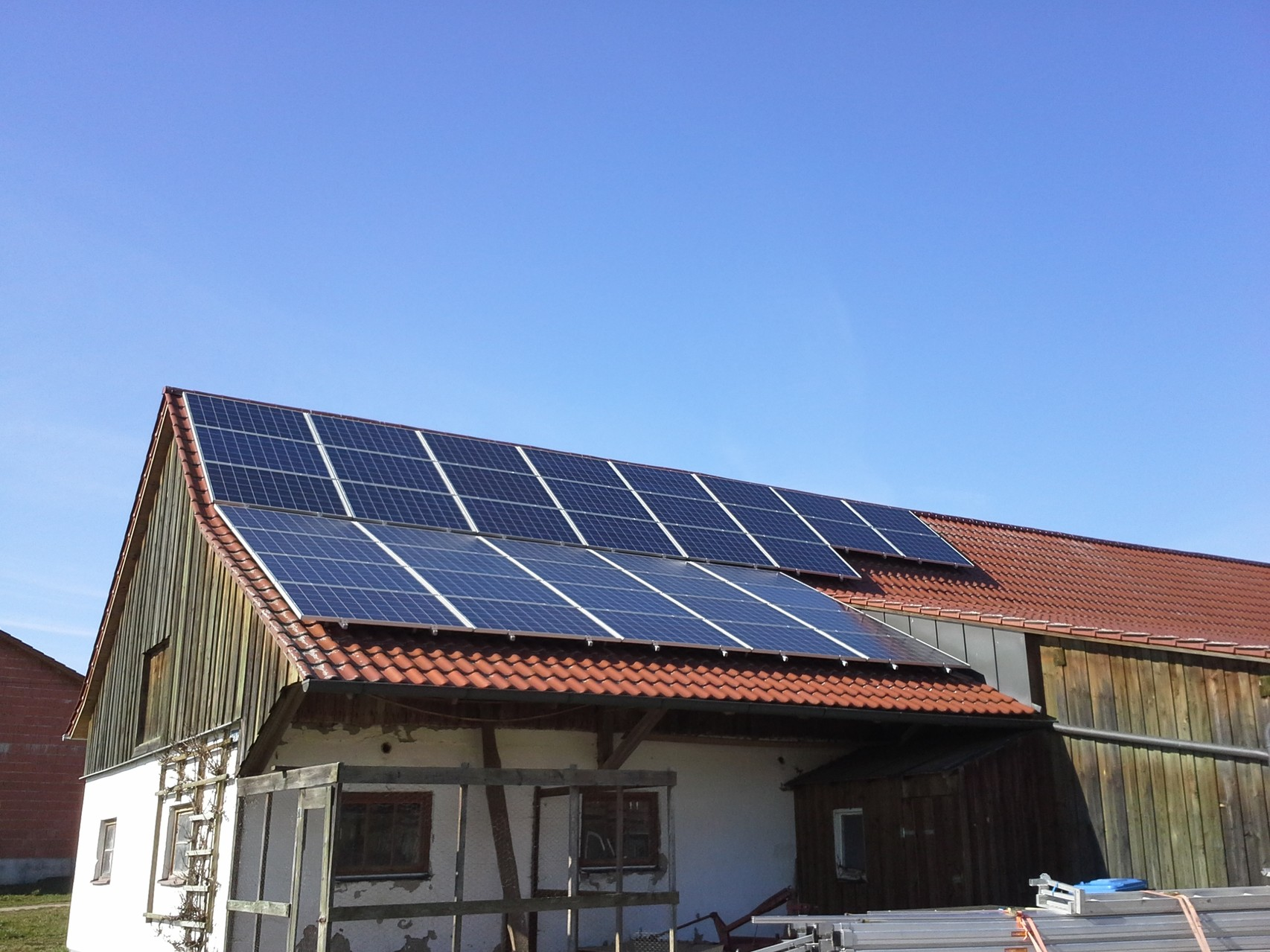 30 kWp in Rohr in der Niederbayern Solarwatt
