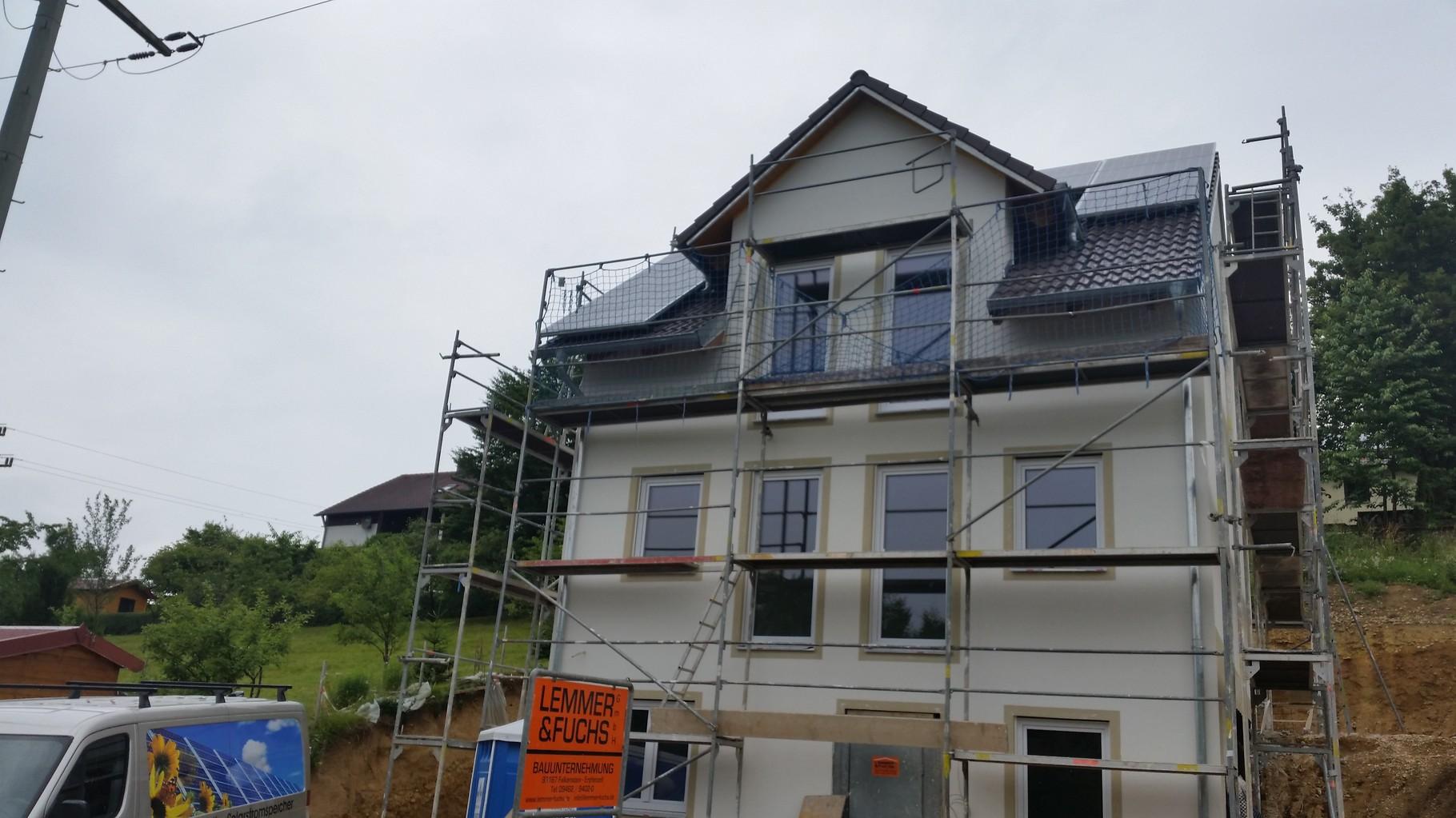 4,75 kWp Photovoltaikanlage 93356 Teugn ALEO Modulen