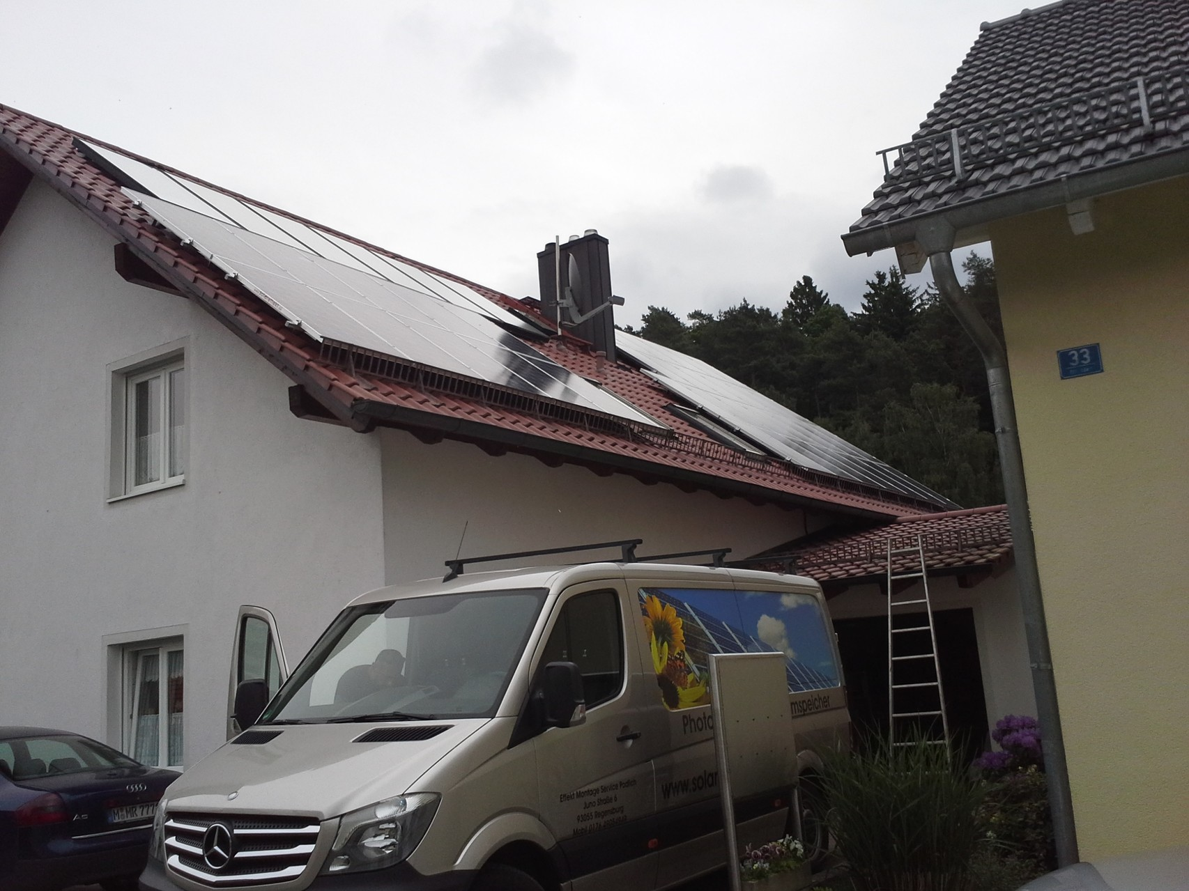 9 kWp in 93109 Wiesent SHARP Solar