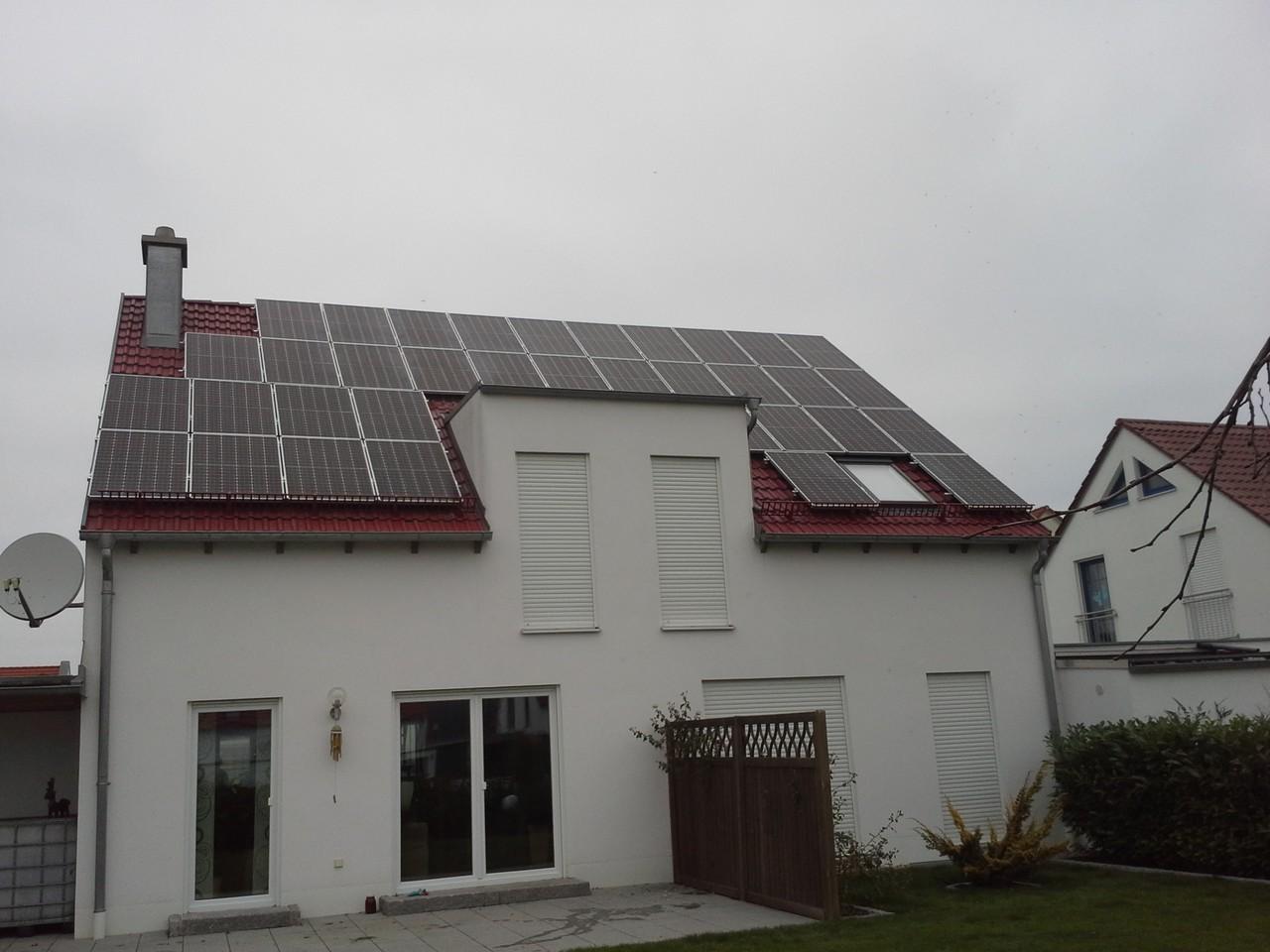 10 kWp in 93055 Burgweinting Bosch Solar