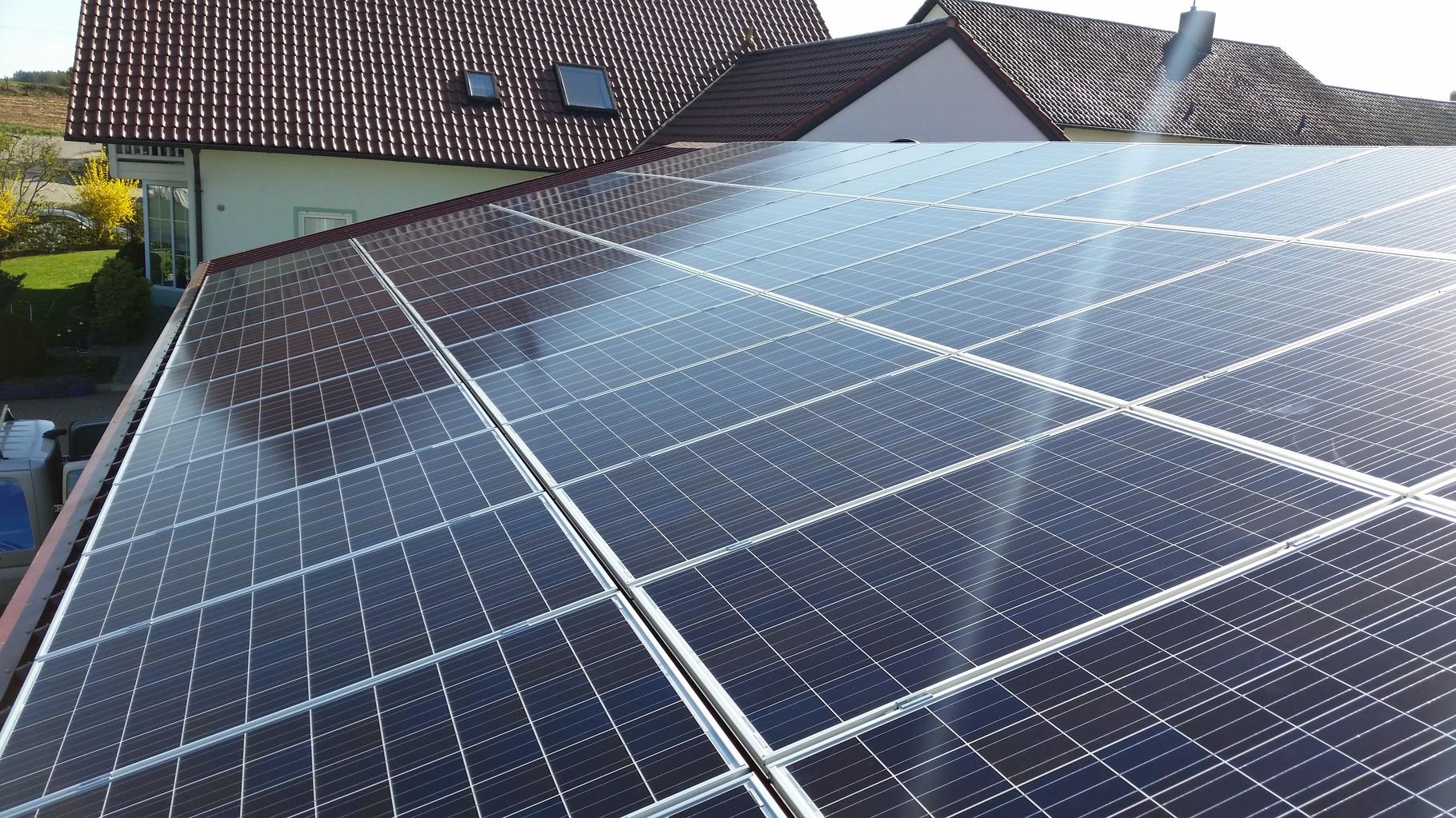 20,25 kWp Photovoltaikanlage 84056 Rottenburg SHARP Modulen mit Senec G2 Plus Speicher