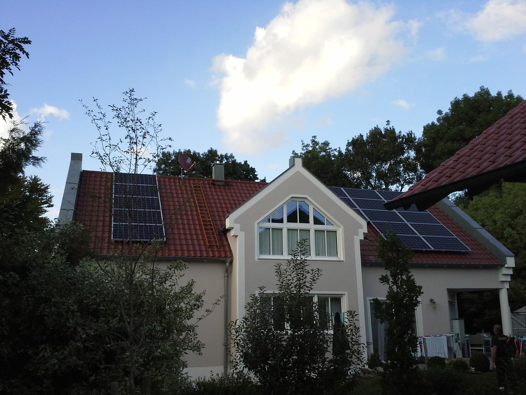 Phototovoltaikanlage 9,75 kWp in 85104 Pförring mit SHARP Module