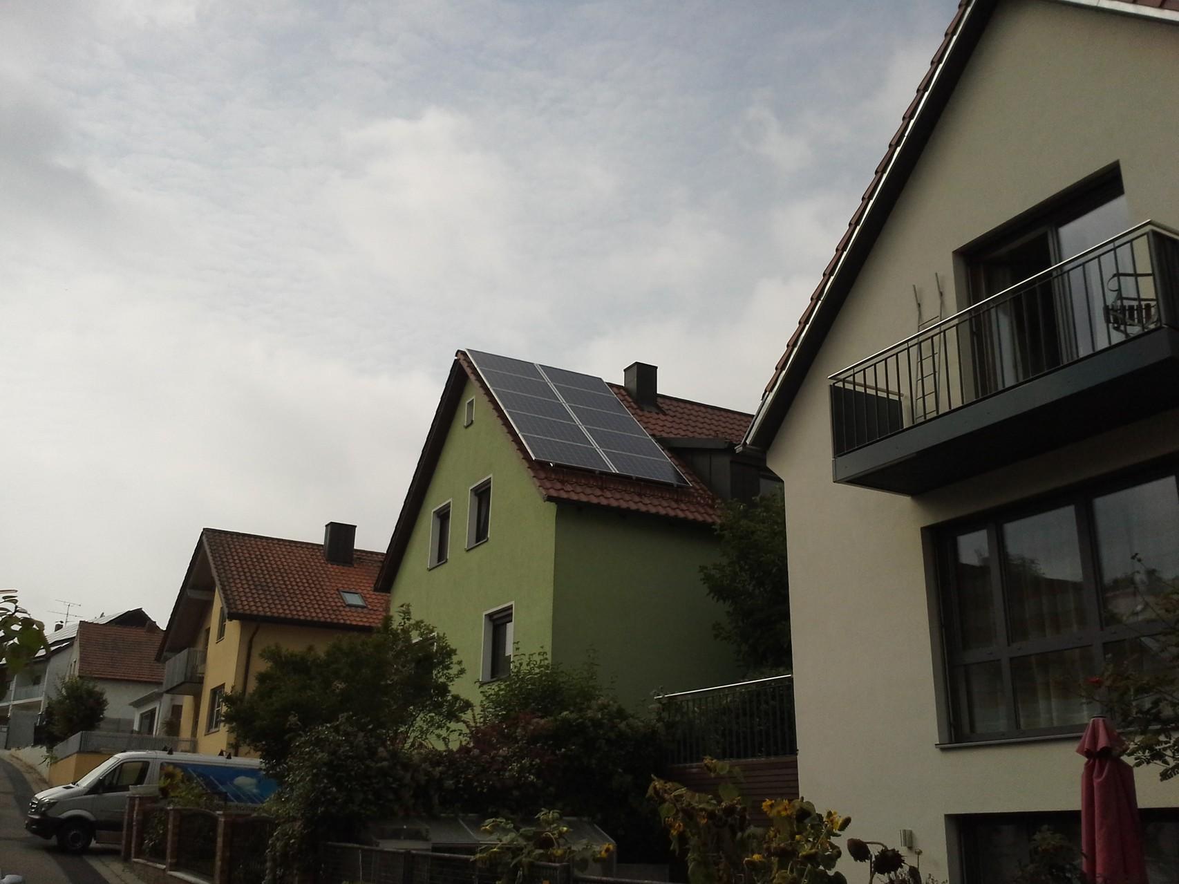 Phototovoltaikanlage 7,65 in 93053 Regensburgf  mit Solarwatt Glas/Glas Module 30 Jahre Garantie