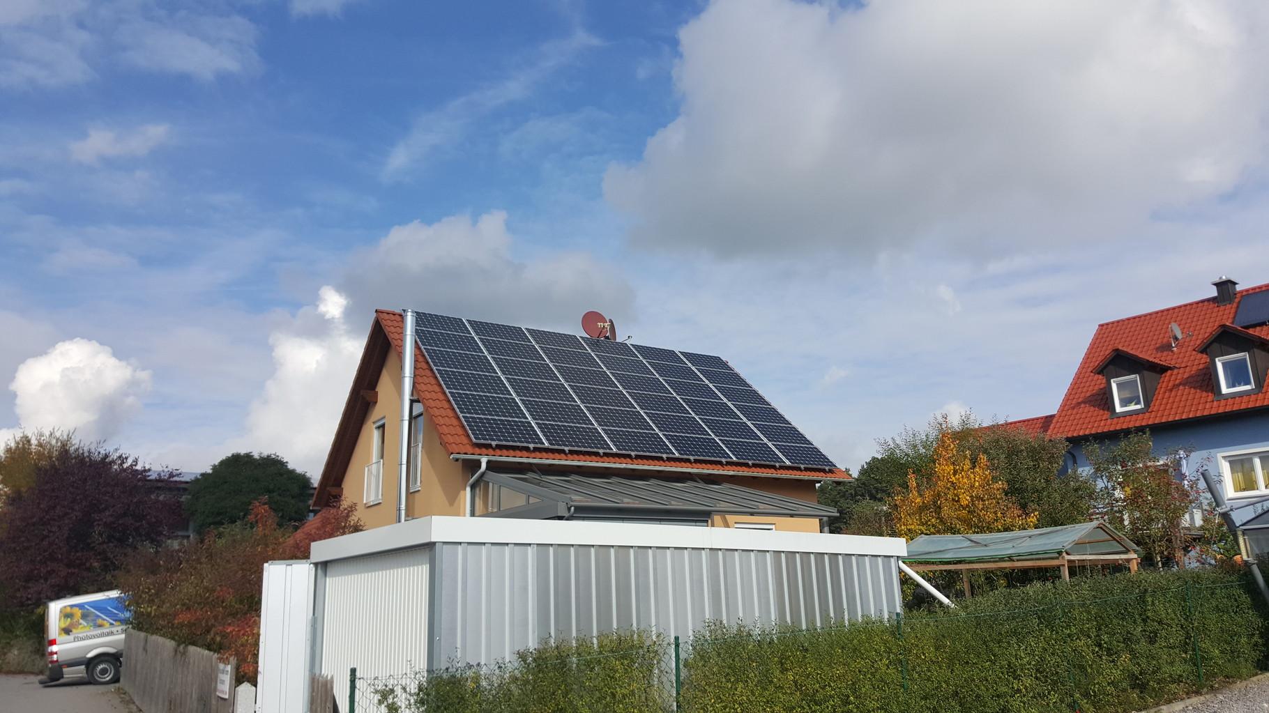 10 kWp Photovoltaikanlage 93188 Pielenhofen Aleo Modulen mit Senec  10.0 Lithium Batterie in Pielenhofen