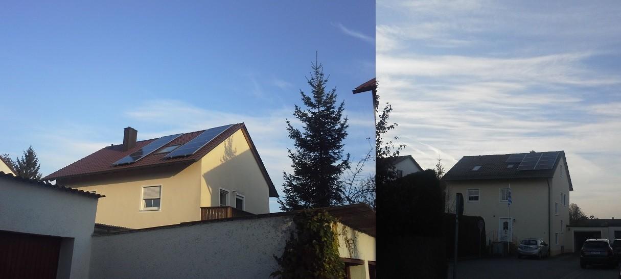 Phototovoltaikanlage 5 kWp 93055 Harting mit SENEC Speicher