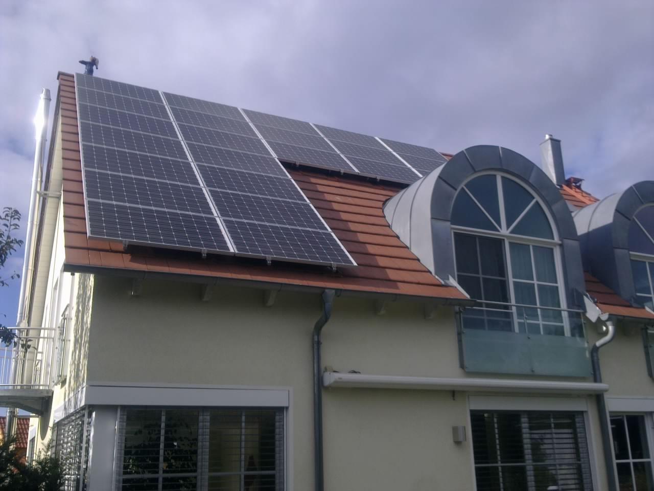 12,96 kWp Photovoltaikanlage in Irlsbrunn