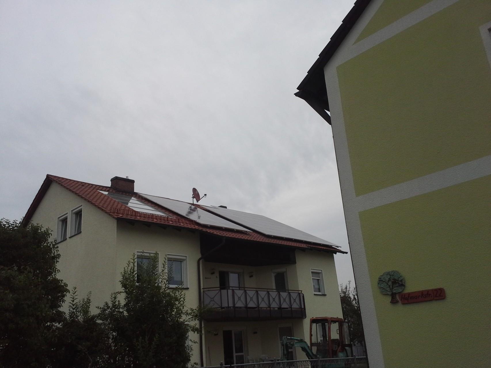 Phototovoltaikanlage 9,75 kWp in 93128 Regenstauf mit SHARP Module