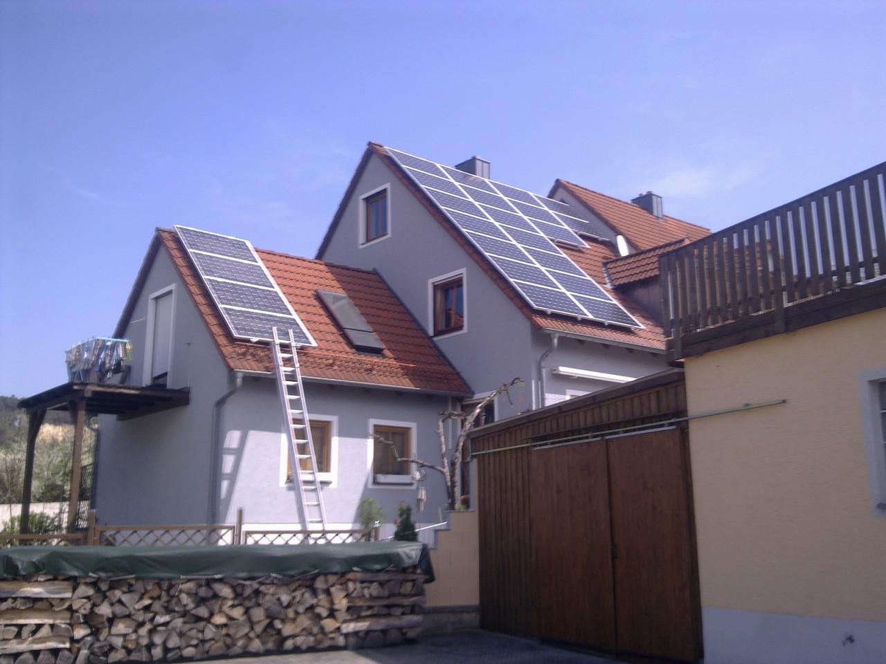 5,5 kWp Photovoltaikanlage in 93077 Bad Abbach