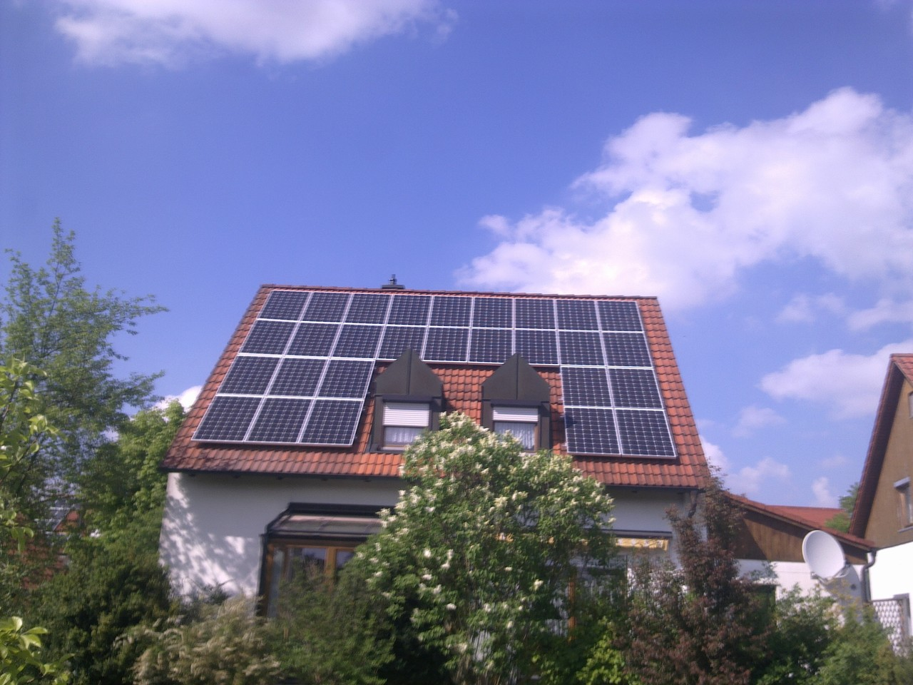 9 kWp Photovoltaikanlage in 84069 Langquaid