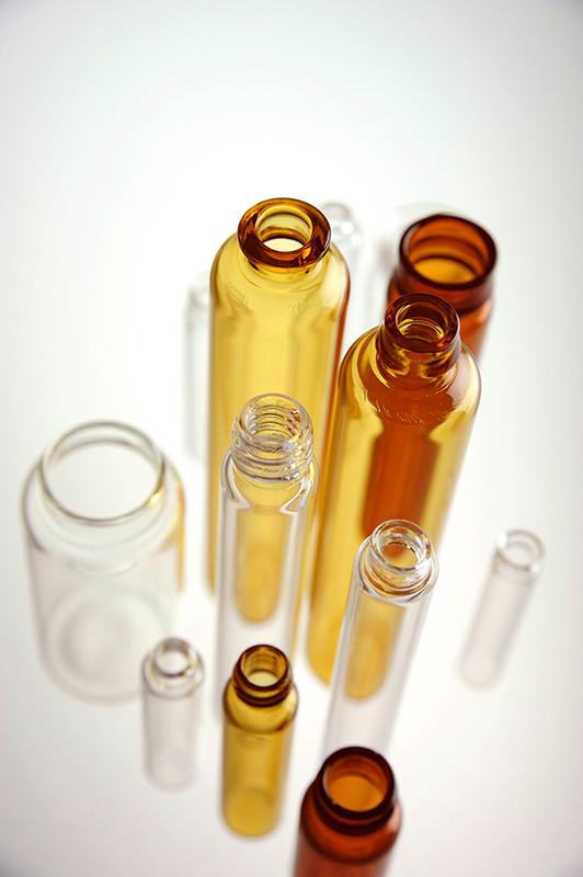 Studiofotografie, Glas für die Pharmazie, Rofra GmbH