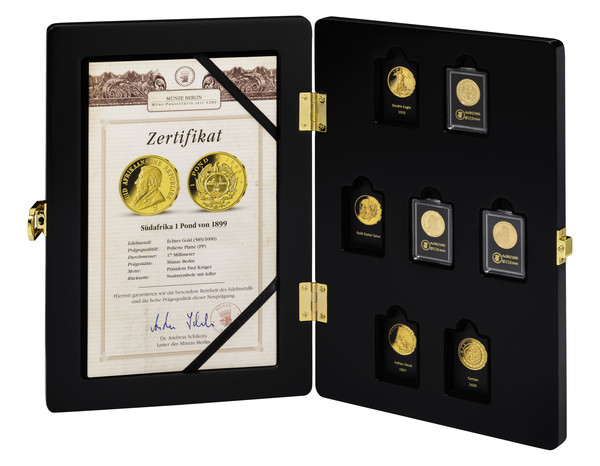 The famous Million Dollar Set – Gold replicas - MDM International ...