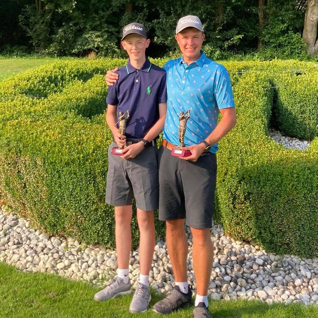 4er Clubmeisterschaften in Tambach  Jugendspieler Maximilian Wickleinholt sich den Titel