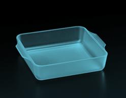 半透明アクリル(青)・積層ピッチ30μ、器