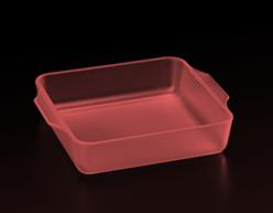 半透明アクリル(赤)・積層ピッチ30μ、バケット