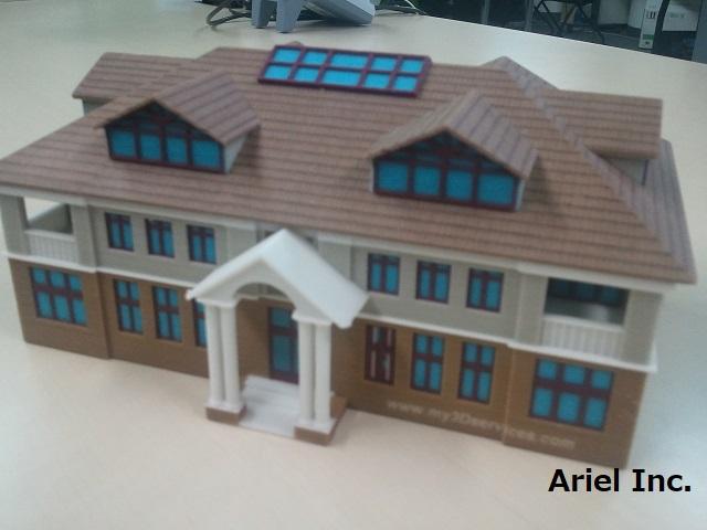 住宅模型(フルカラー)