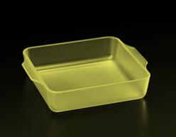 半透明アクリル(黄)・積層ピッチ30μ、容器