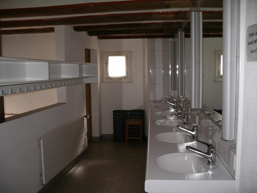 Waschraum auf Etage