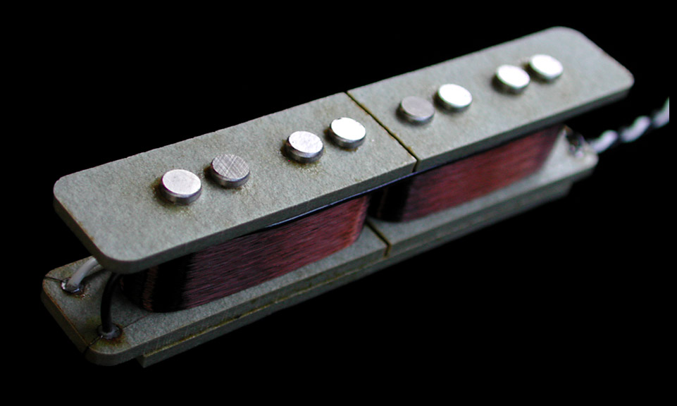 Single Coil Steg /& Hals Humbucker Pickup Tonabnehmer Set für 5 Saiten Bass