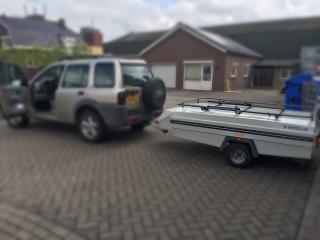 route naar www.huurjevouwwagen.nl