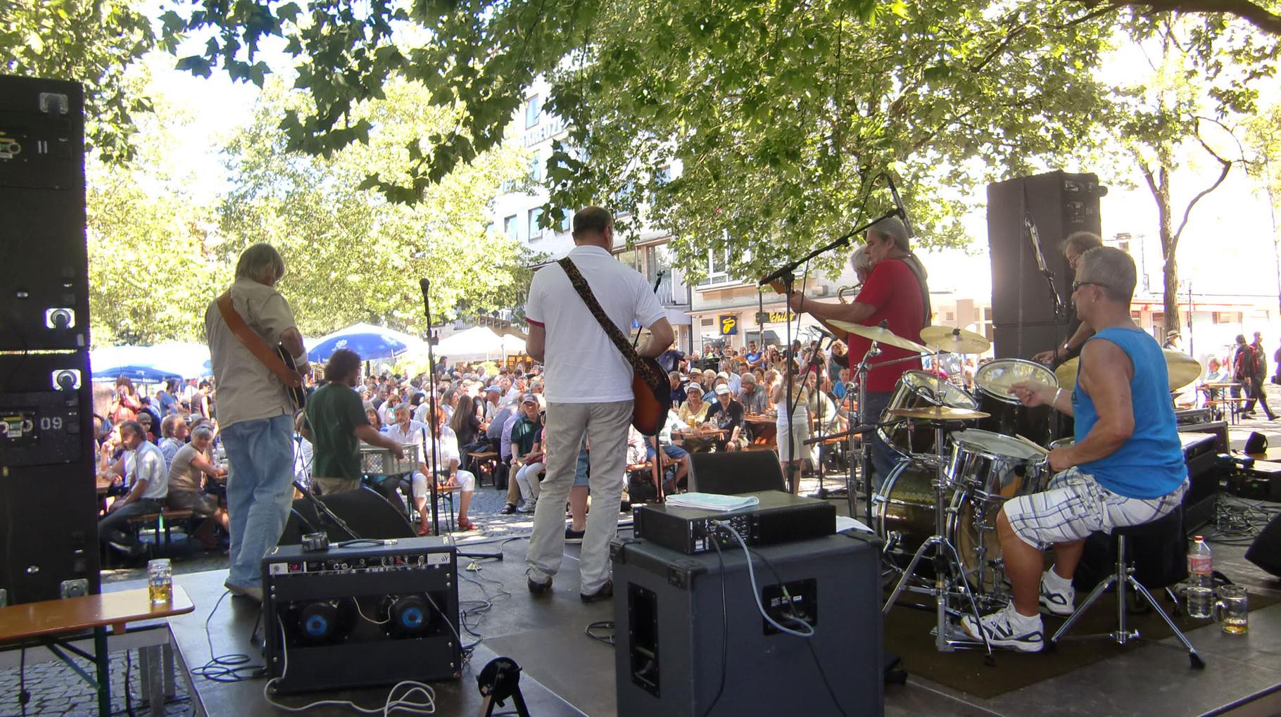 Bluesfest Rotkreuzplatz 2012