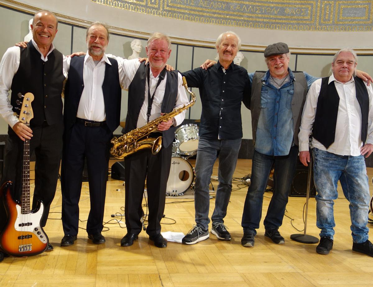 Heute mit Gast-Drummer Werner und ohne Albert