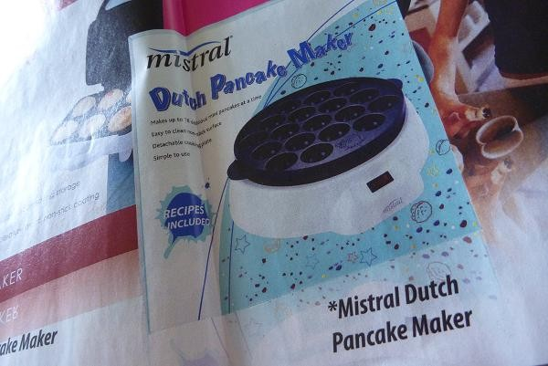 "mistralの""Dutch Pancake Maker""って言う名前。"