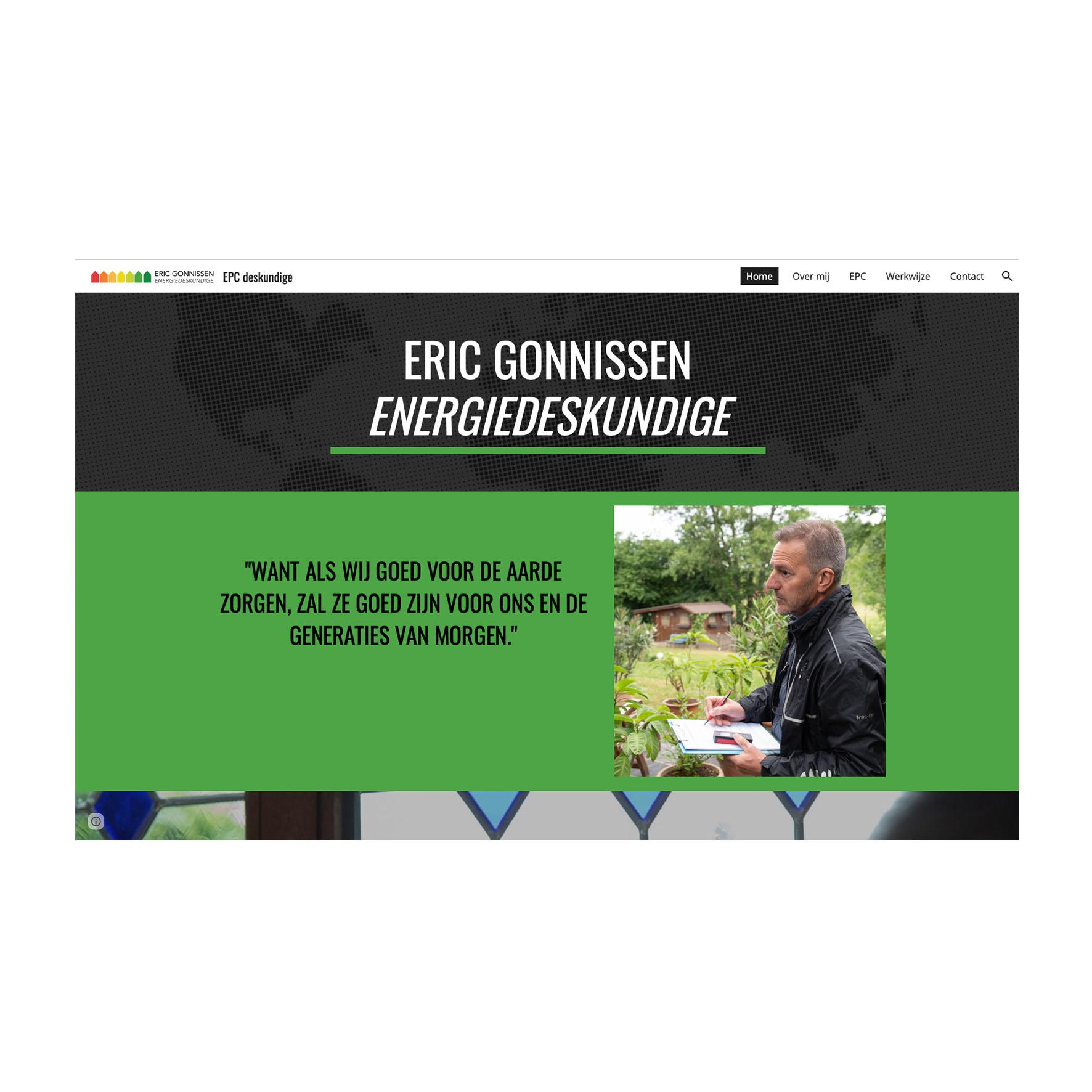 Website - Eric Gonnissen