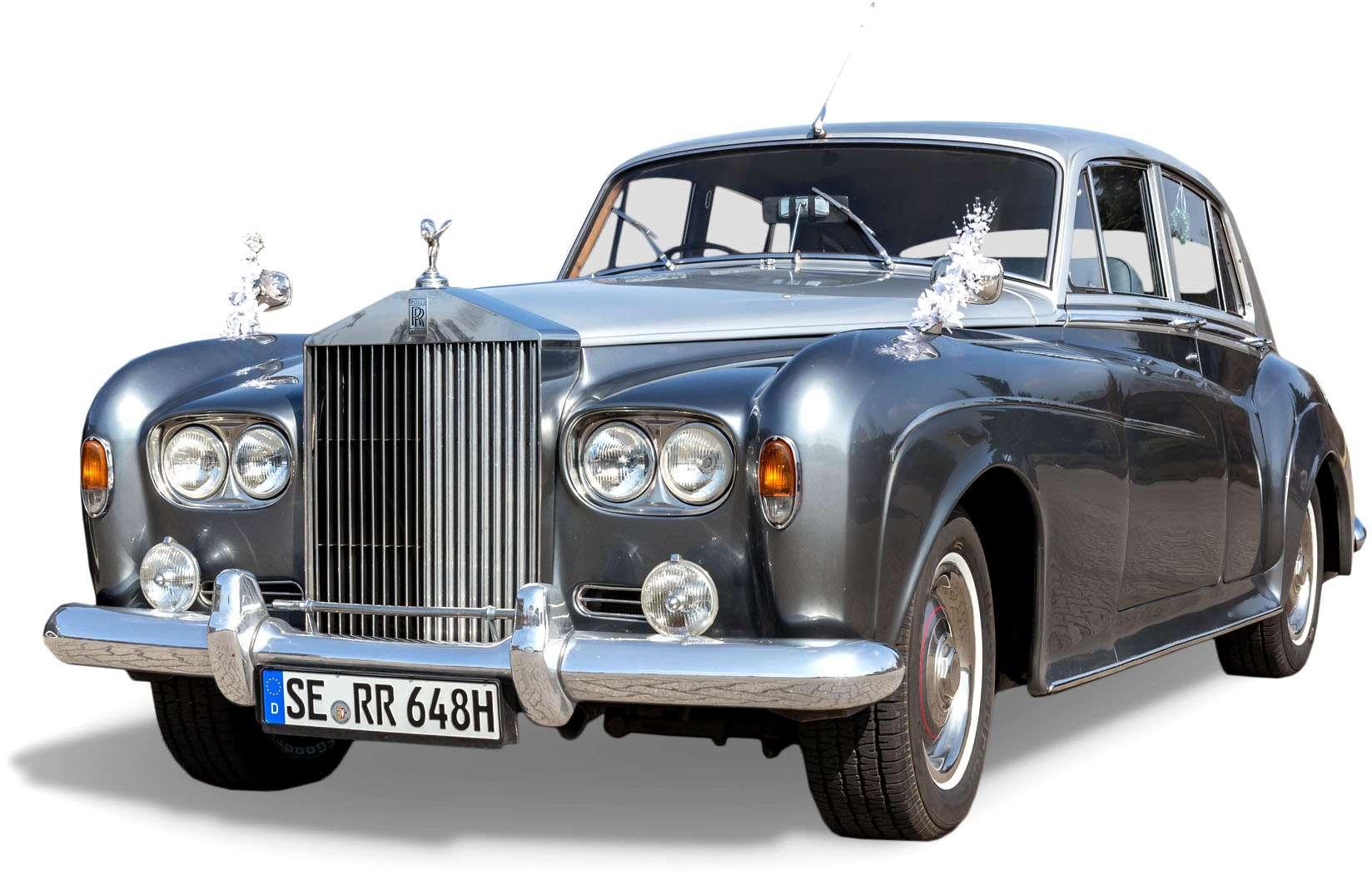 Hochzeitsfahrt Rolls Royce