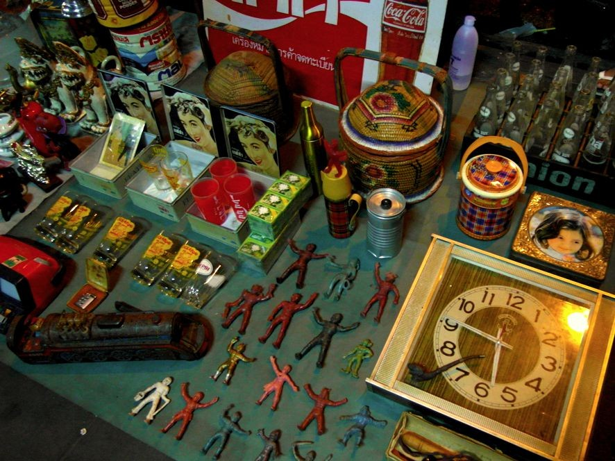 Nach wie vor angesagt in Bangkok: Vintage Style