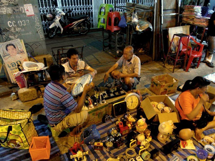 Khlong Thom: Marktleben