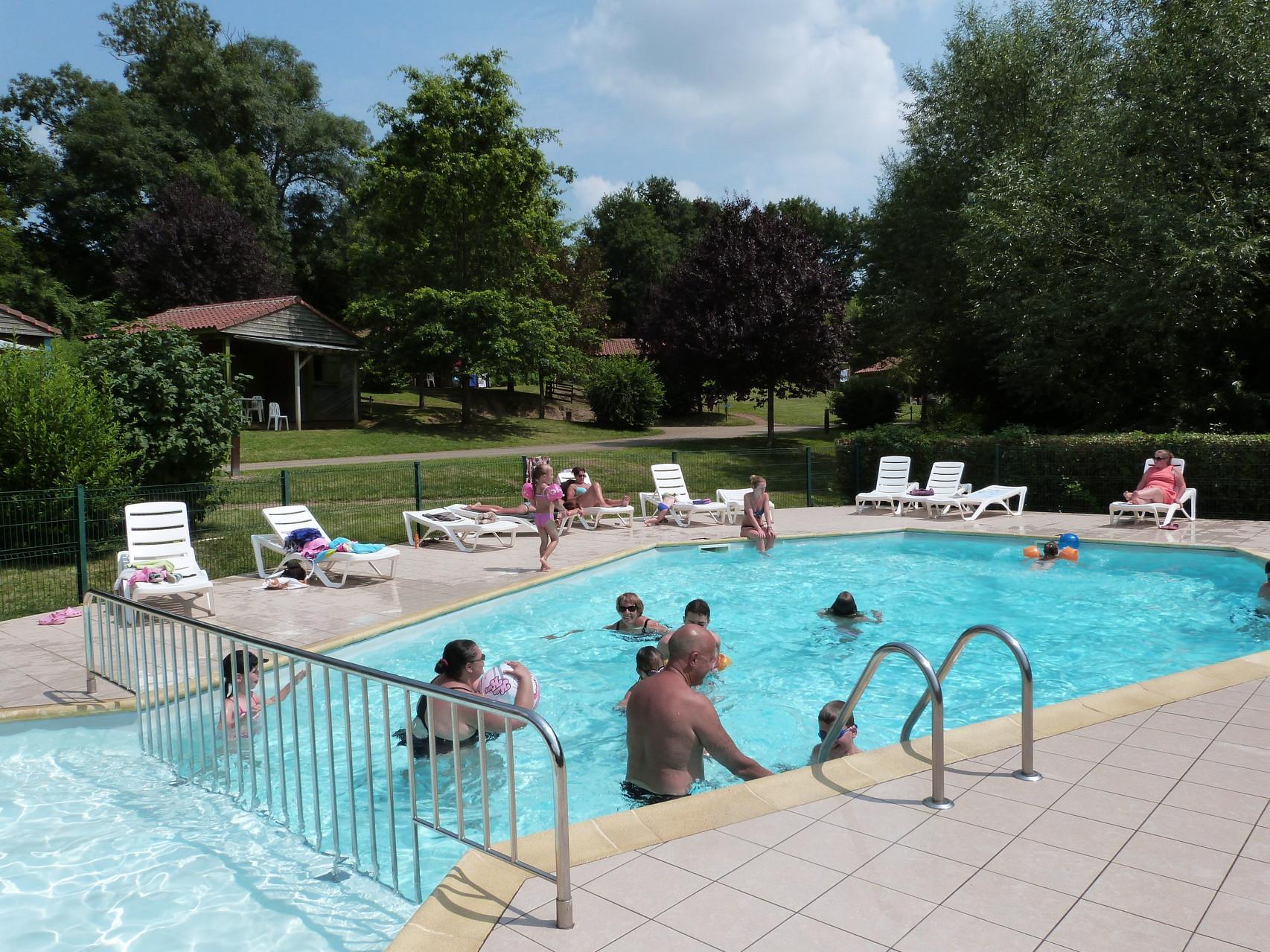 Camping avec piscine en Vendée Vallée