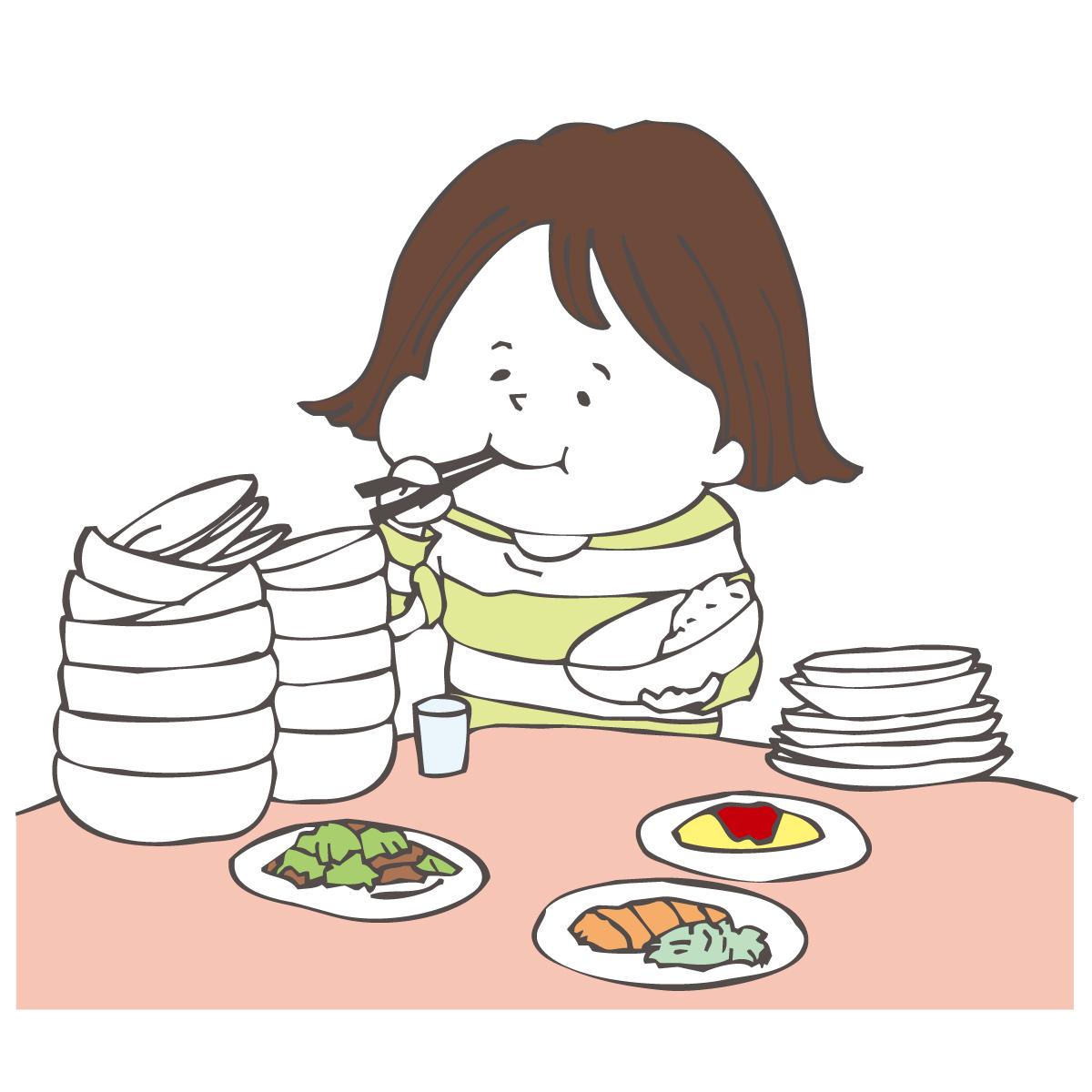 食べすぎ・太りすぎも冷えの原因に?!