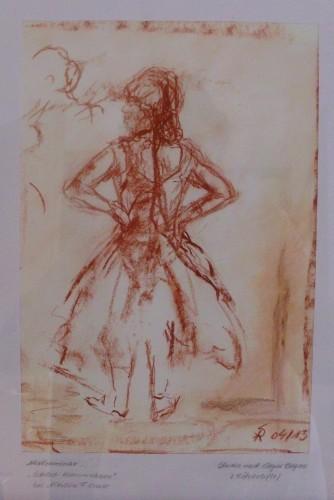 Ballett (Studie nach Edgar Degas)