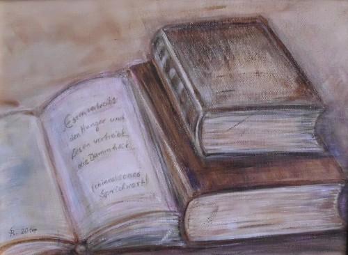 Bücherweisheit