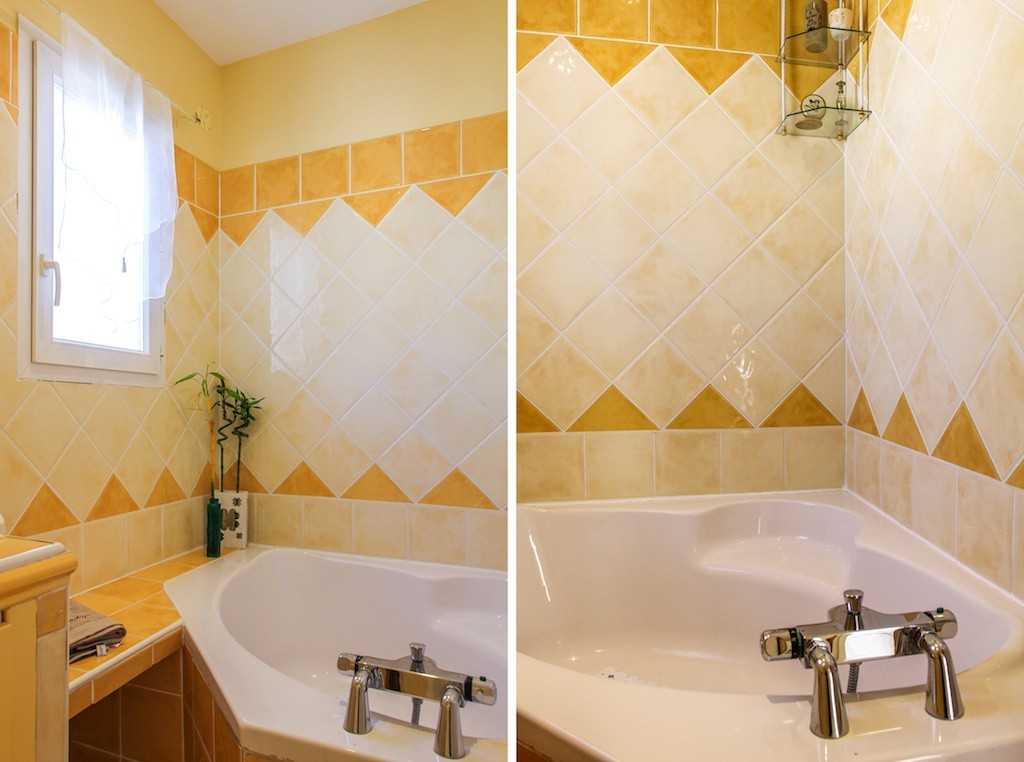 La salle de bain de la chambre Grand Large