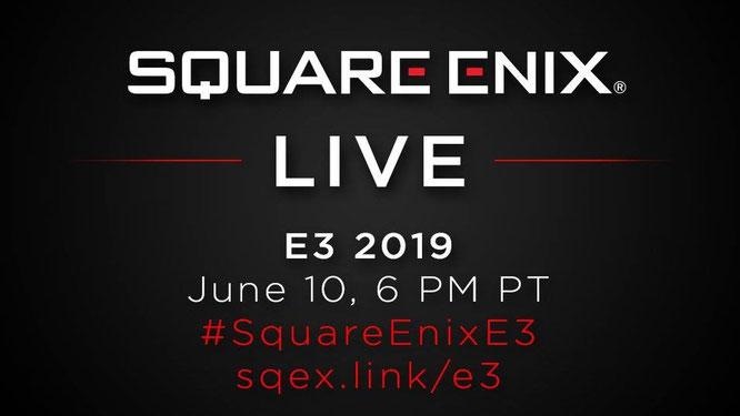 #SquareEnixE3 2019 - Pressekonferenz im Live-Stream!