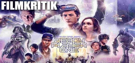 READY PLAYER ONE - Wie gut ist der neue Sci-Fi-Film von Steven-Spielberg? [FILMKRITIK]