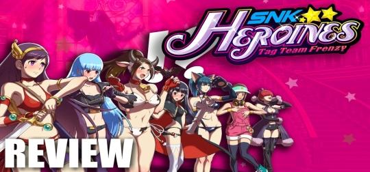 Review: SNK Heroines: Tag Team Frenzy - Klassisches Prügelprogramm mit reizvollen Kämpferinnen! [PS4]
