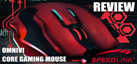 Review: Speedlink OMNIVI Core - Gaming-Mouse mit perfektem Handling? [PC]