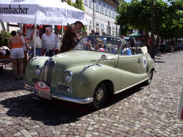 BMW 501 V8 Cabriolet  (Barockengel)