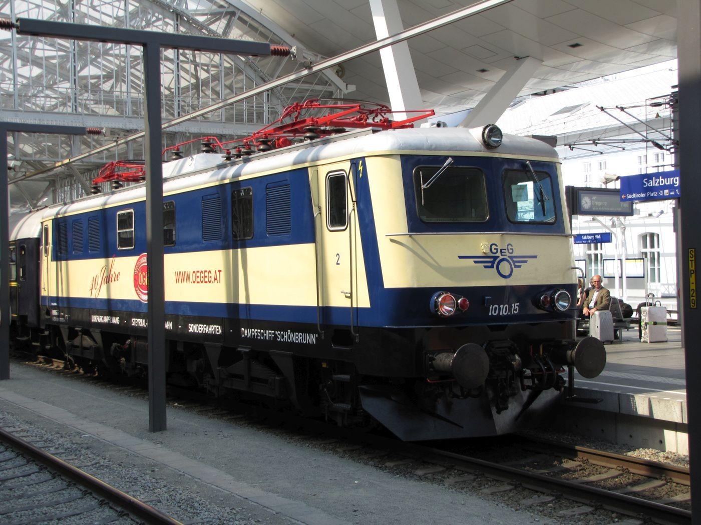 im Salzburger Bahnhof